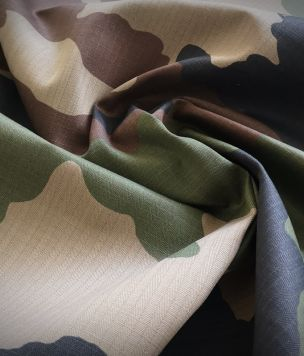 Uniform fabric for clothing uniform CCE CAMO FRANCE 0,5mb