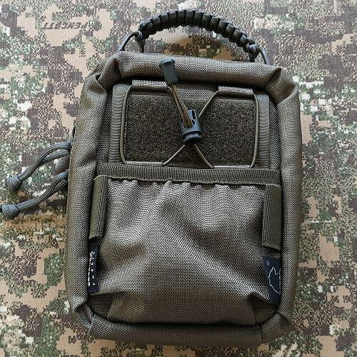 Cordura pocket instead of regular mesh pocket +7pln