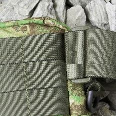 Waist belt with no MOLLE webbing