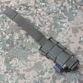 "1x mounting strap short 3"" / 2 molle +6pln"