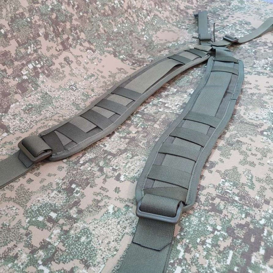 Ergonomic, detachable 5mm padded MOLLE shoulder pads +65pln