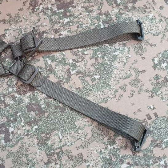 2 spare long straps with clips for mounting belt on the back side +20pln