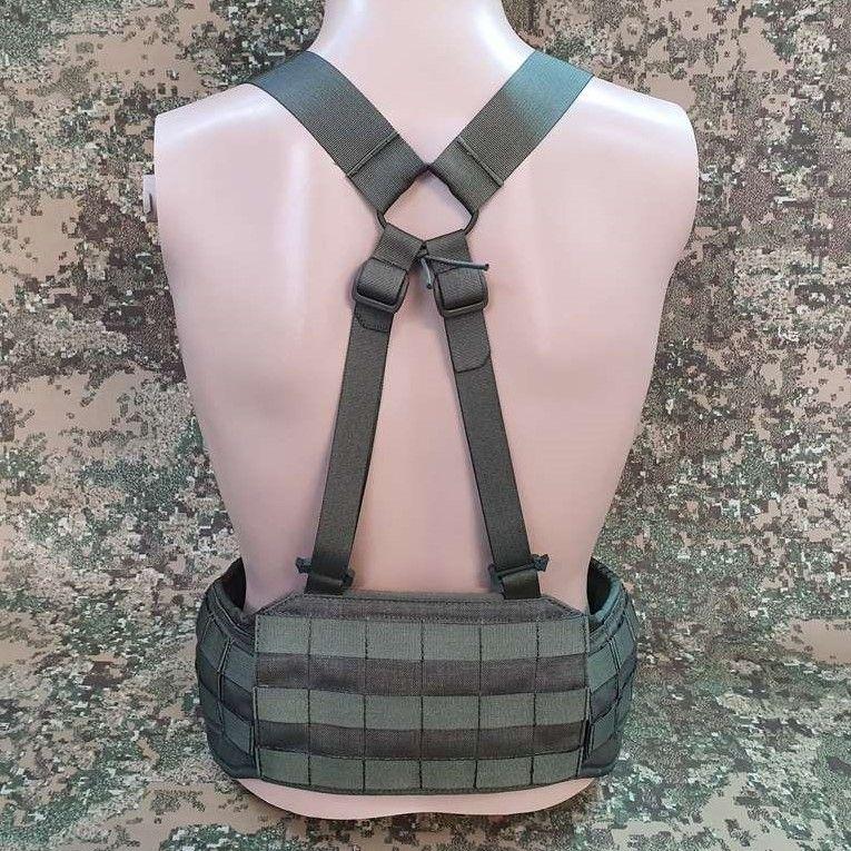"""Low profile 40mm webbing harness type """"X"""" +55pln"""