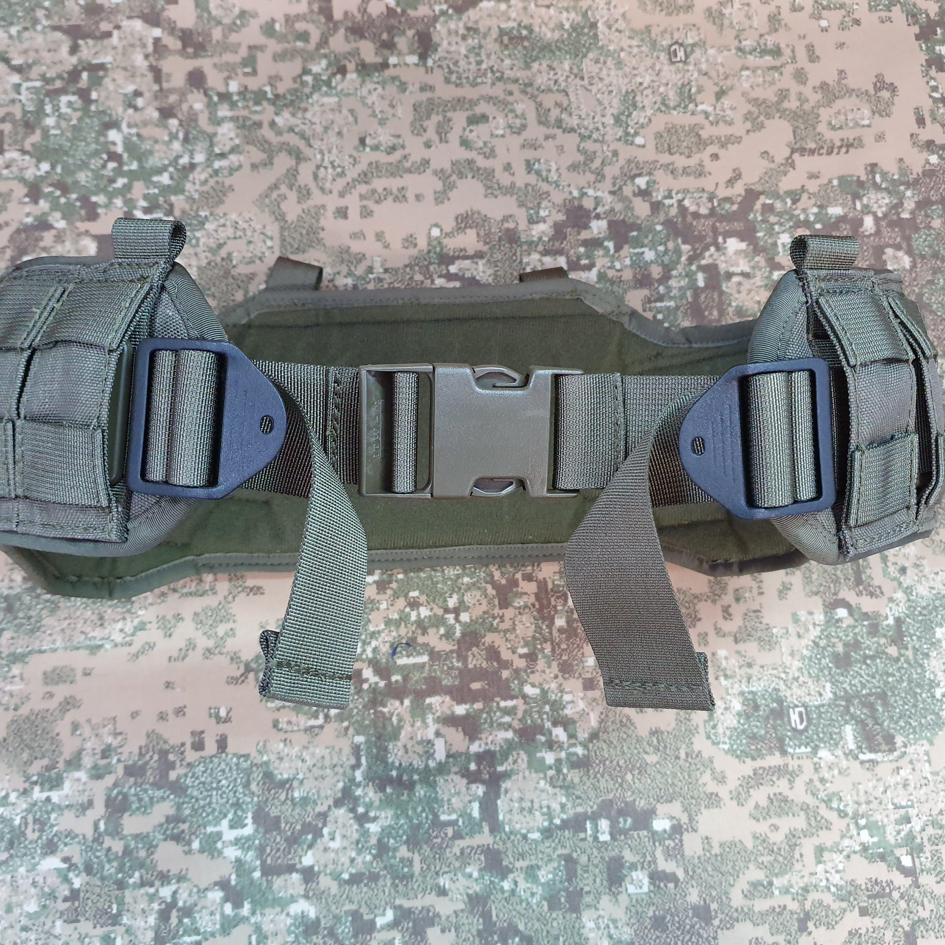 Waist belt 40mm with extra adjusting force at both sides +35pln