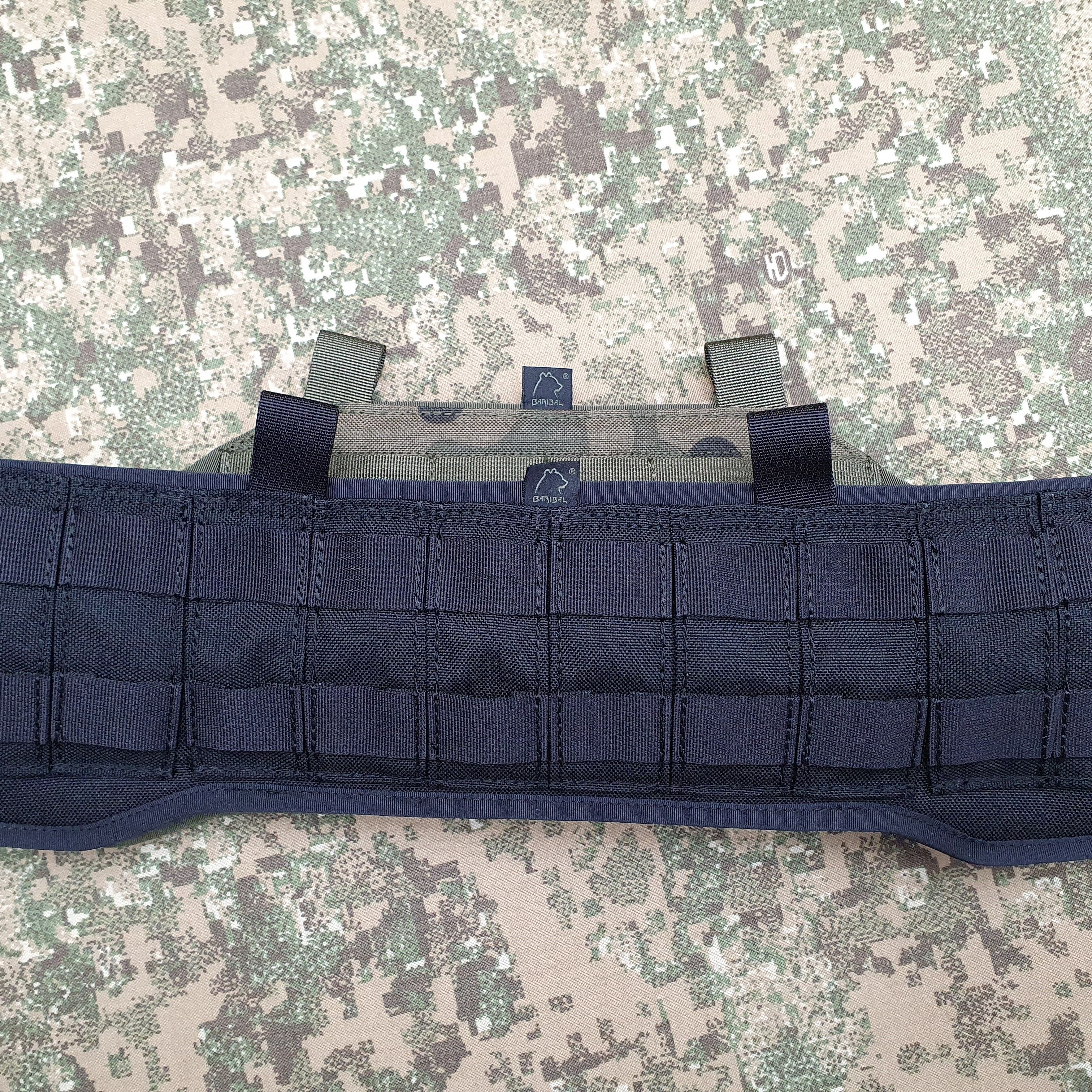 Height decreased and MOLLE panel devided to 6 pieces with 2 rows of MOLLE +55pln
