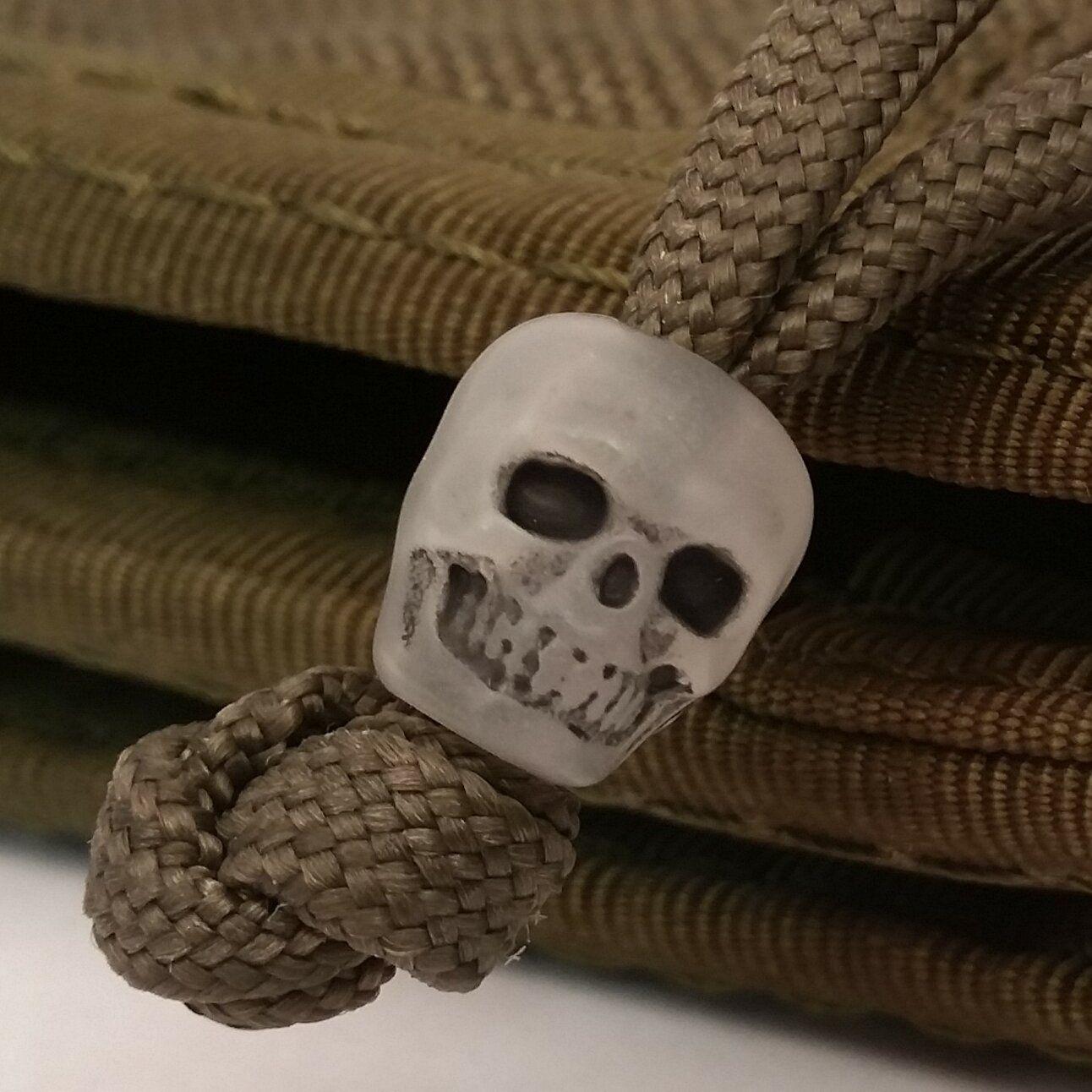 GITD skull for slider