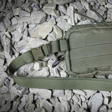 Detachable waist belt 25mm +9pln