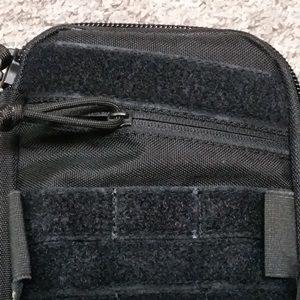 Loop tape above the zipper +5pln