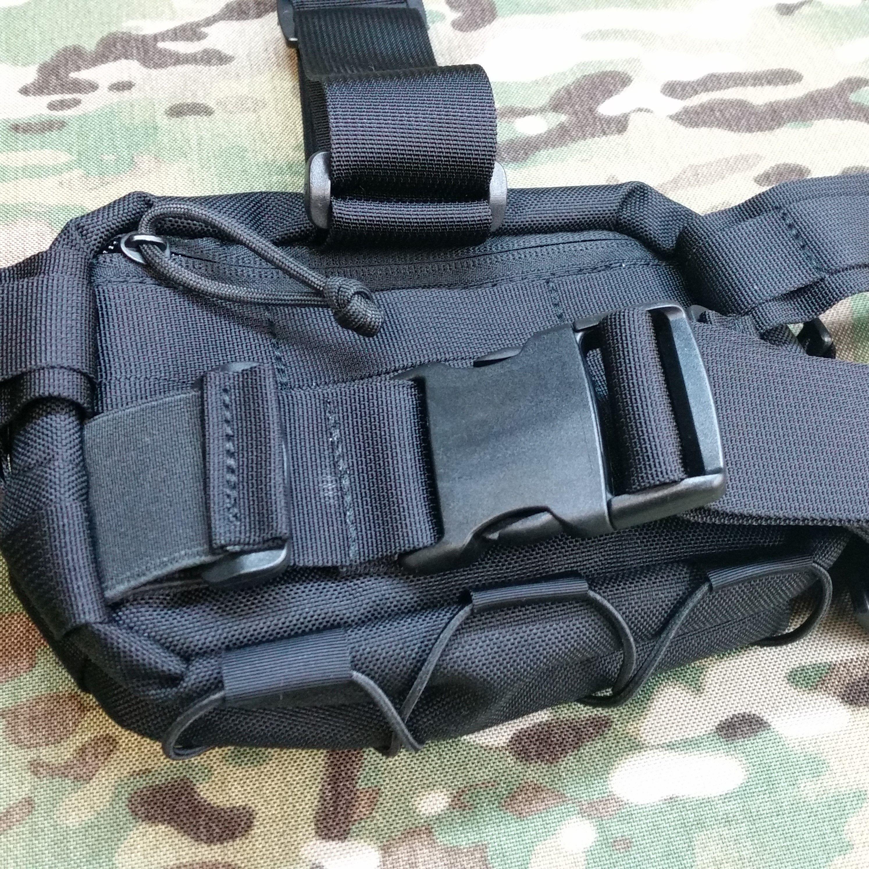 Detachable leg harness webbing system +25pln