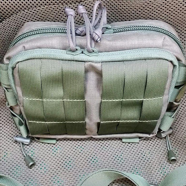 Fat pocket with 2-slider zipper closure  +22pln