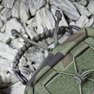 Shockcord color same as paracord grip color (if available)