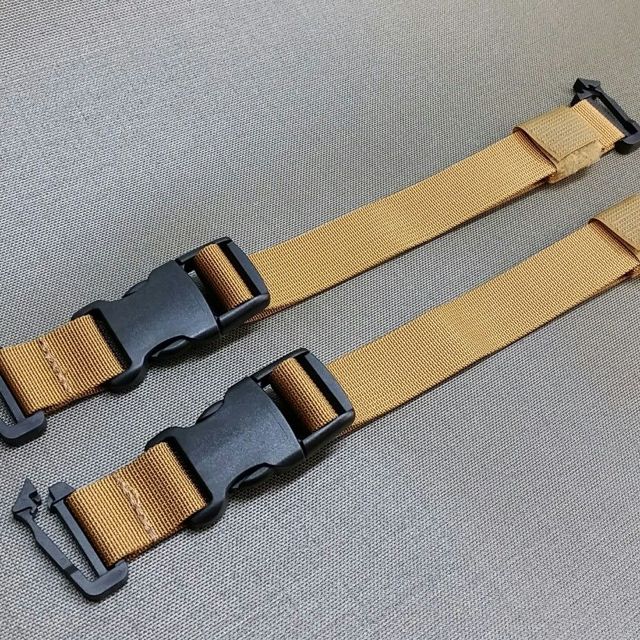 2 detachable universal straps with clips +19pln