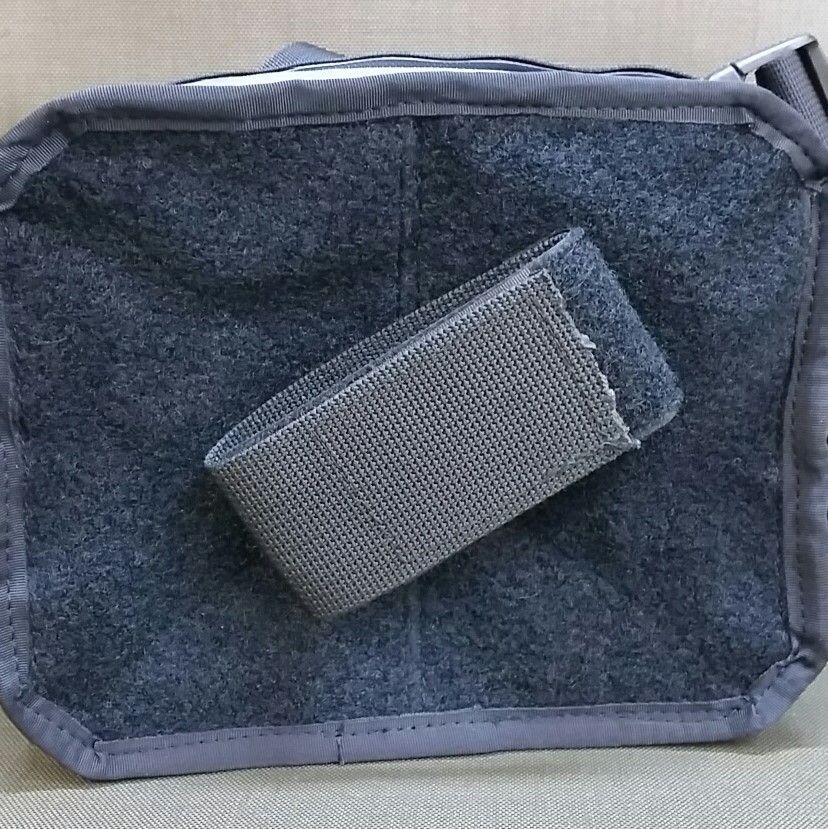 Velcro panel with gun mount +19pln