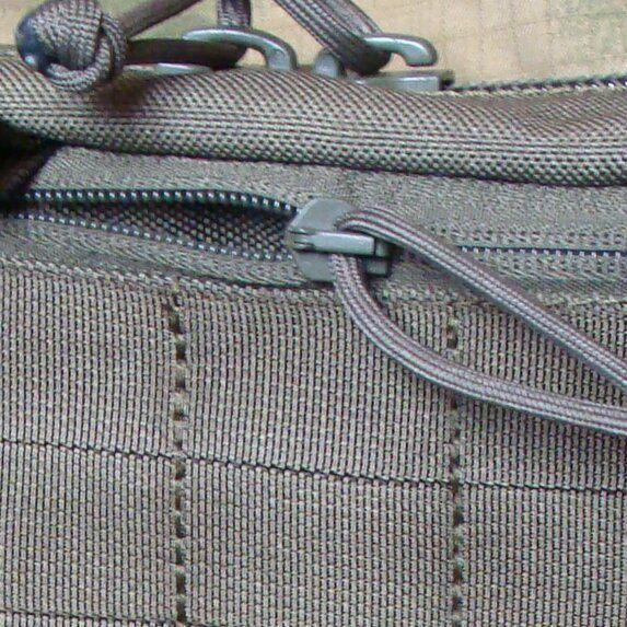 Flat pocket with zipper closure +12pln