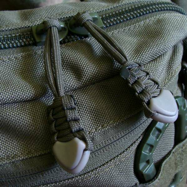 2x Zipper puller for extra pocket (for custom pocket) +8pln