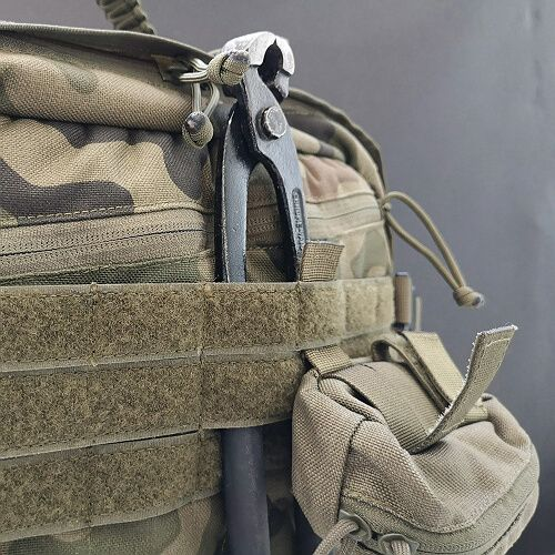50mm webbing under 25mm MOLLE webbing + 12pln
