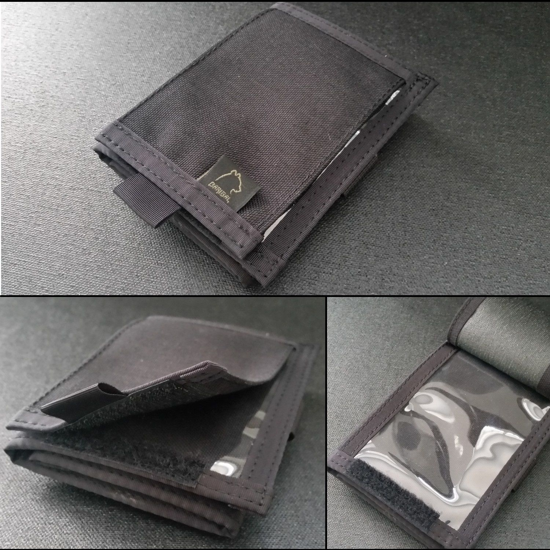ID transparent pocket with Cordura flap +19pln