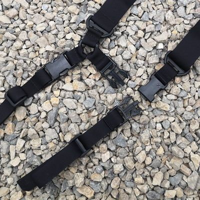 Extra strap with buckle for 2 point detachable mount and buckle to D-ring +15pln
