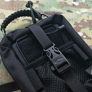 Black firerod-whistler buckle +7pln