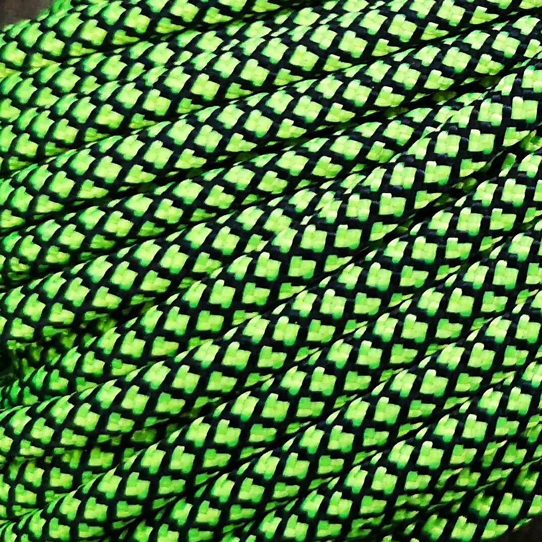 green neon snake